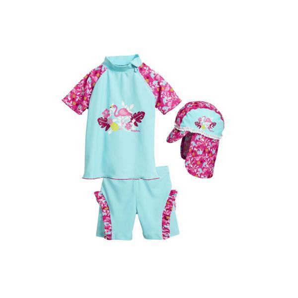 81d12133482 Детски бански момиче Фламинго 4